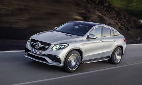 Mercedes-AMG GLE 63 S Coupe revealed at Detroit show