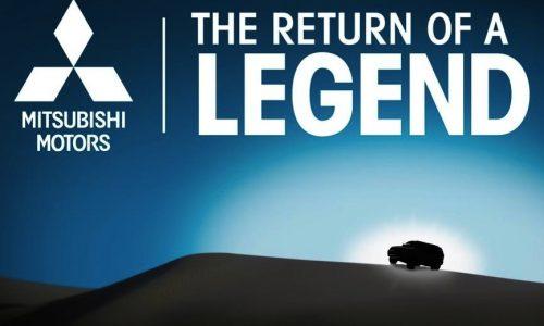 Mitsubishi SUV to debut at Chicago show, new Pajero?