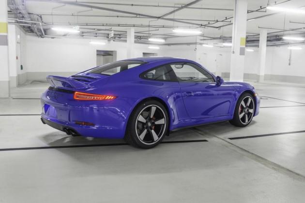 Porsche 911 GTS Club Coupe-rear