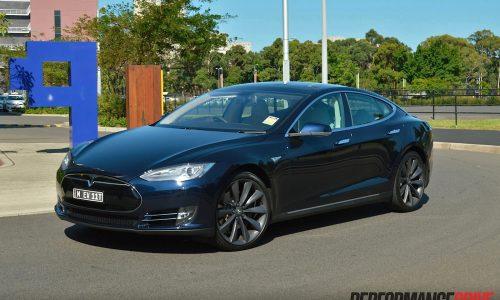 Tesla Model S P85+ review (video)