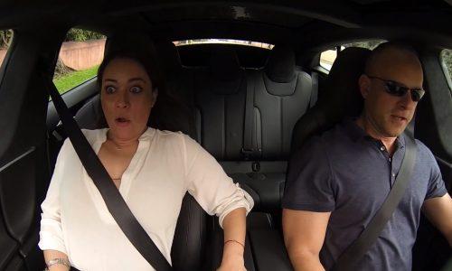 Video: Tesla Model S P85D is frighteningly quick…
