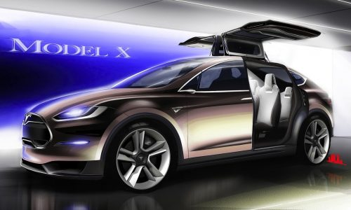 Telsa Model X to be 7-seat SUV, EV powertrains up to 508kW