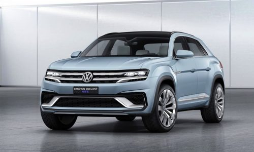 Volkswagen Cross Coupe GTE concept revealed at Detroit