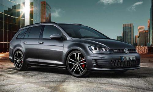 Volkswagen Golf GTD Variant revealed before Geneva debut