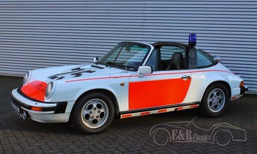 For Sale: 1989 Porsche 911 Targa police car from Holland