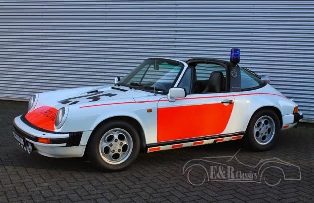 1989 Porsche 911 Targa Holland police car