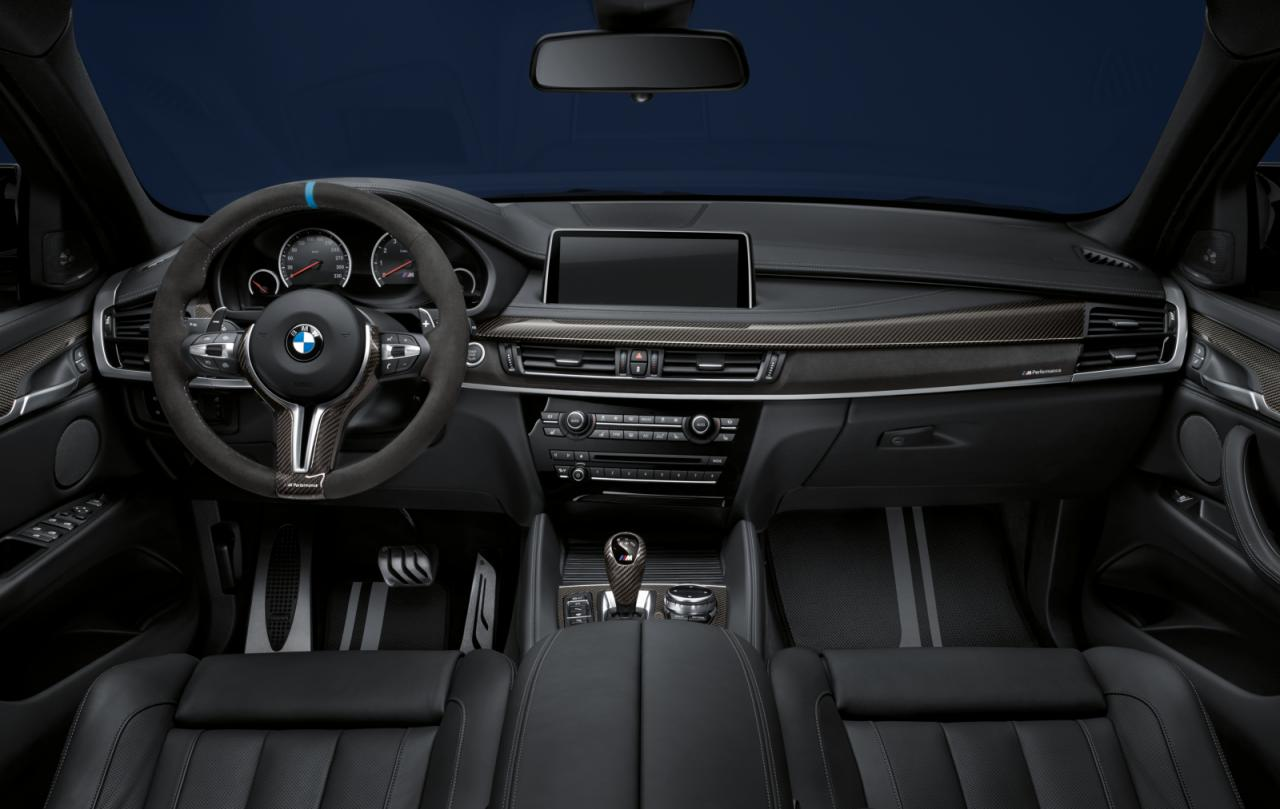 BMW M Performance accessories announced for X5 M & X6 M ...