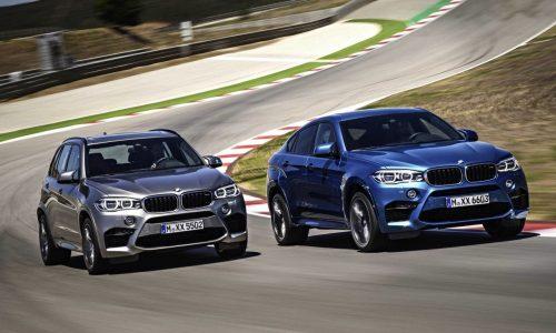 2015 BMW X5 M & X6 M on sale in Australia from $185,900