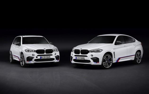 2015 BMW X5 and X6 M Perfotmance