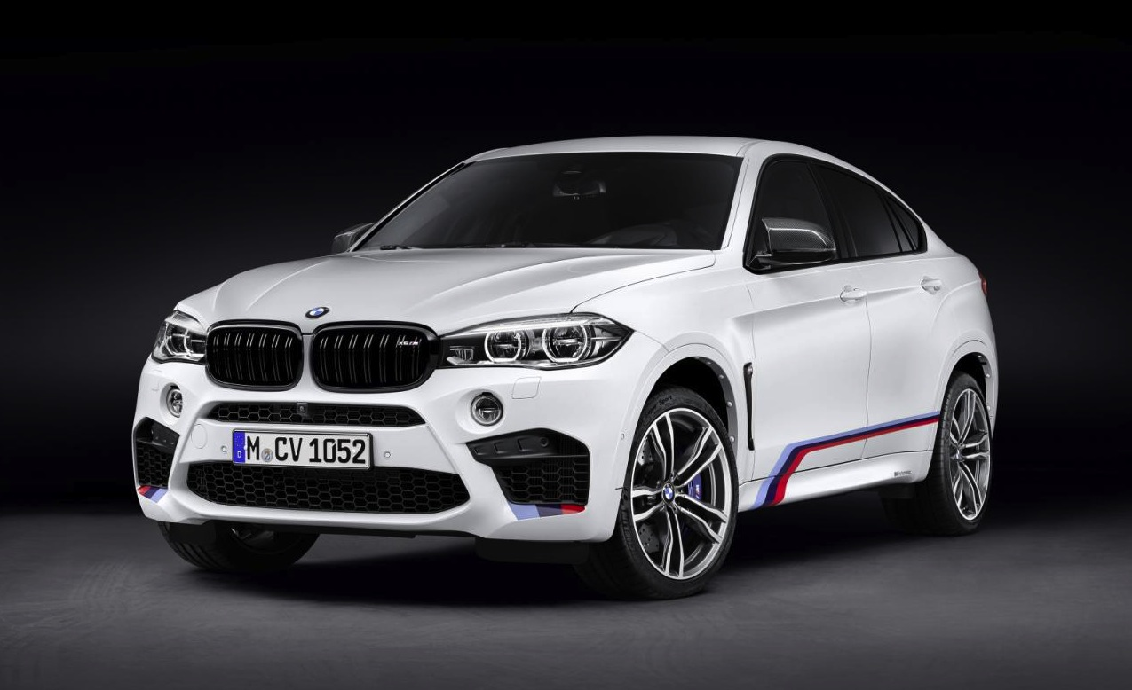 Bmw M Performance Accessories Announced For X5 M Amp X6 M