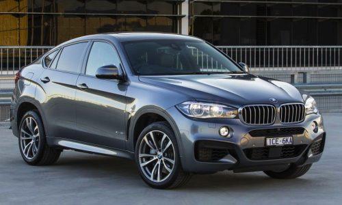 2015 BMW X6 on sale from $115,400, xDrive50i now 330kW