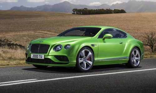 Bentley Continental GT facelift revealed, more power for W12