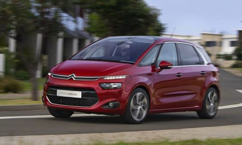 2015 Citroen C4 Picasso on sale in Australia from $40,990