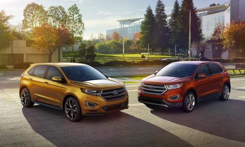 Ford Edge 2.7 EcoBoost offers class-leading specifications (US spec)