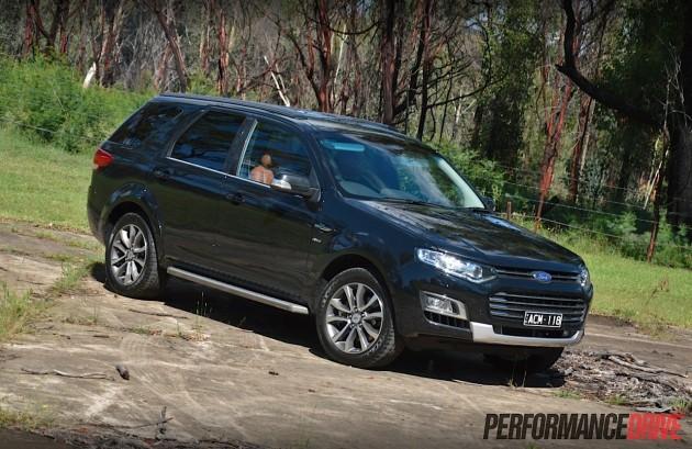 2015 Ford Territory MkII Titanium-Australia