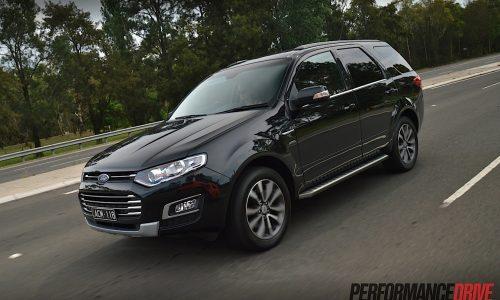 2015 Ford Territory MkII Titanium TDCi AWD review (video)