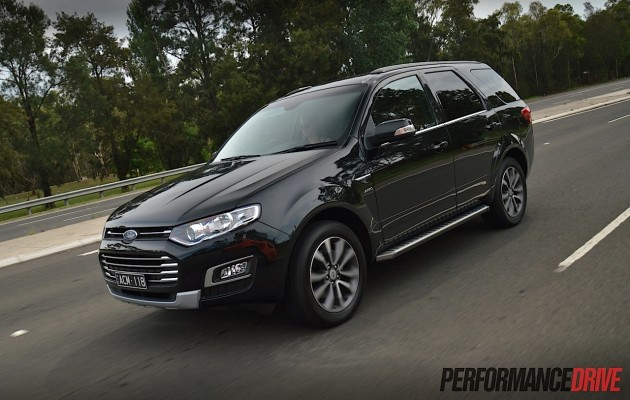 2015 Ford Territory MkII Titanium-driving
