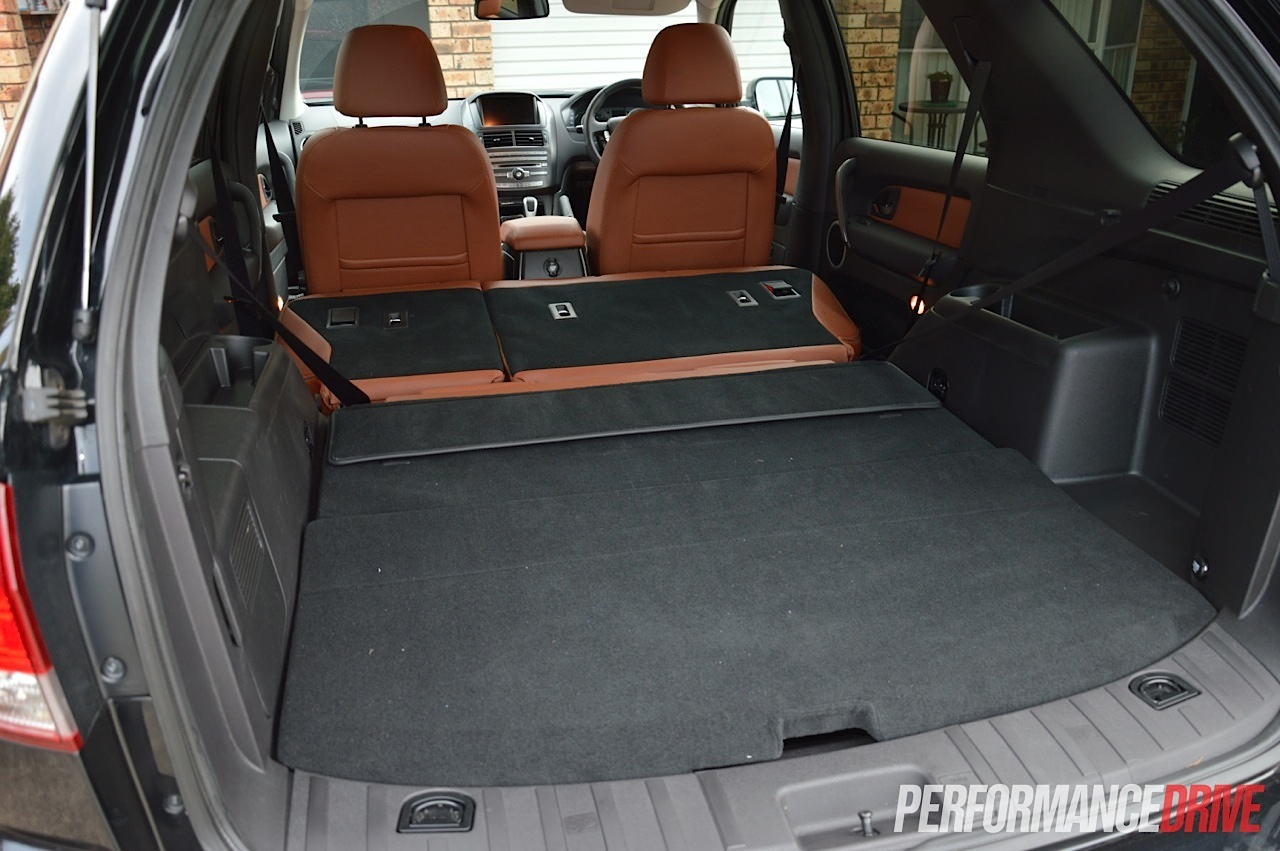 Ford Territory Mkii Titanium Max Cargo Space on bmw 4 cylinder turbo diesel