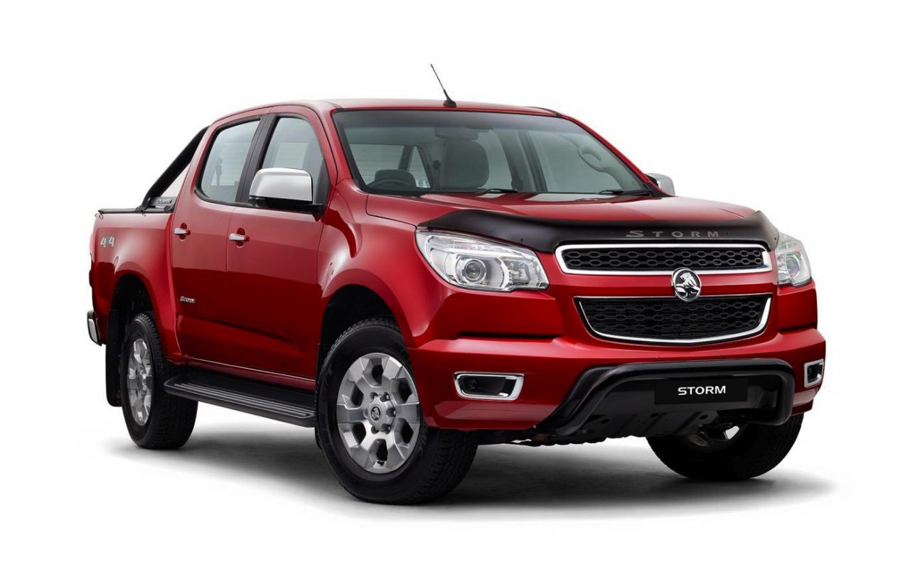 2015 Holden Colorado 'Storm' special is back, from $51,490 | PerformanceDrive