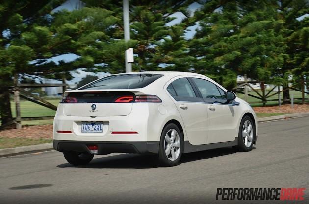 2015 Holden Volt-back