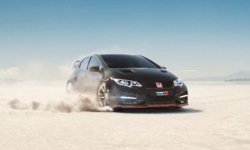 Video: 2015 Honda Civic Type R stars in clever 'Keep Up' ad