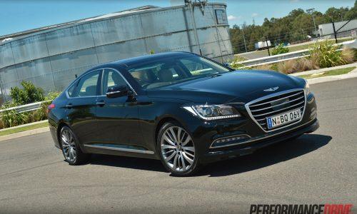 2015 Hyundai Genesis Ultimate Pack review (video)