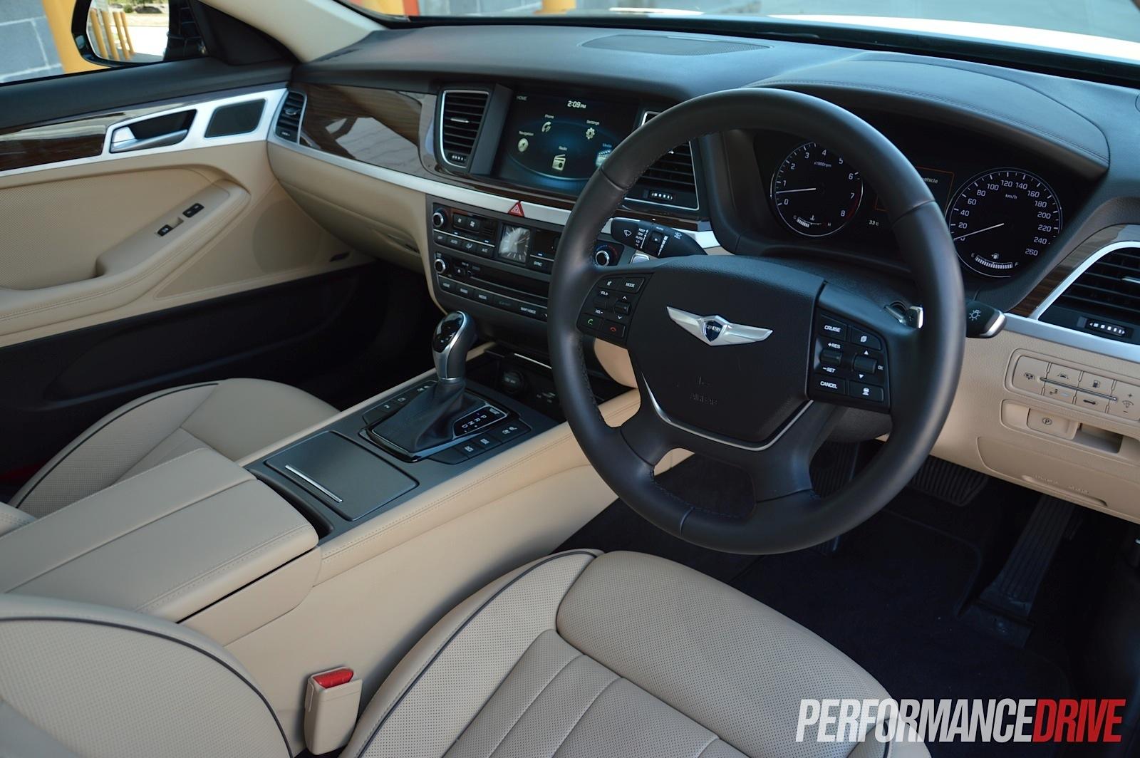 2015 Hyundai Genesis Ultimate Pack review (video) | PerformanceDrive