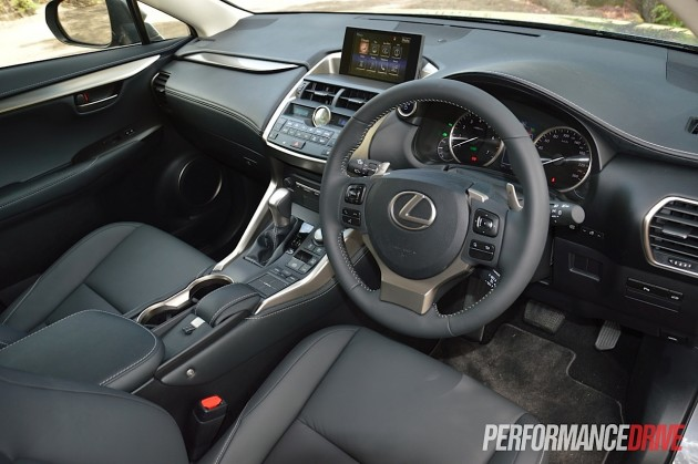 2015 Lexus NX 300h Luxury-interior