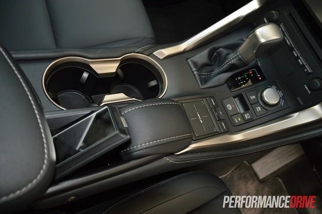 2015 Lexus NX 300h Luxury-pull out mirror