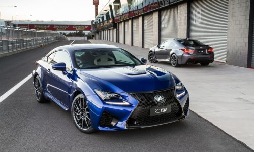 Lexus RC F launches in Australia, new high-performance V8 coupe