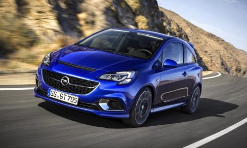 2015 Opel Corsa OPC revealed before Geneva debut
