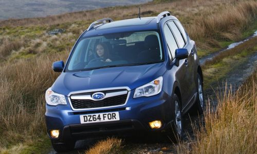 2015 Subaru Forester update revealed, diesel auto option added
