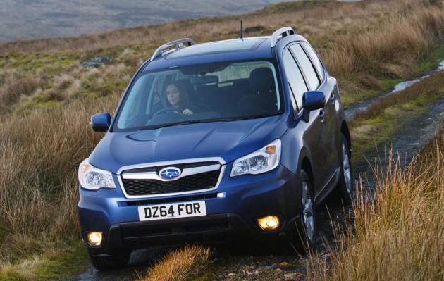 2015 Subaru Forester update
