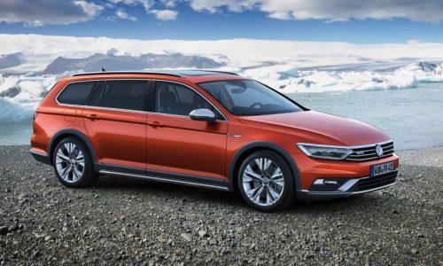 2015 Volkswagen Passat Alltrack shows its face before Geneva