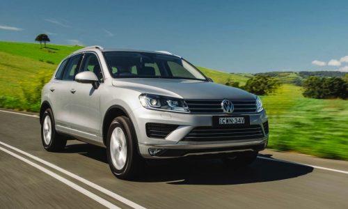 2015 Volkswagen Touareg on sale in Australia from $67,990