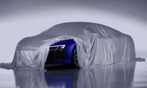 2016 Audi R8 confirmed for Geneva show debut