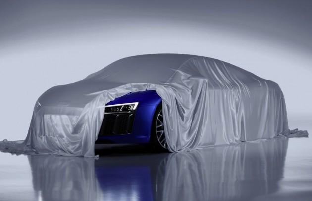 2016 Audi R8 preview
