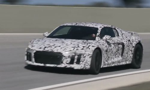 Video: 2016 Audi R8 hits the track, 449kW confirmed for V10 Plus