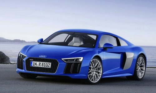 2016 Audi R8 officially revealed, V10-only lineup