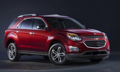 2016 Chevrolet Equinox revealed, Holden Captiva replacement