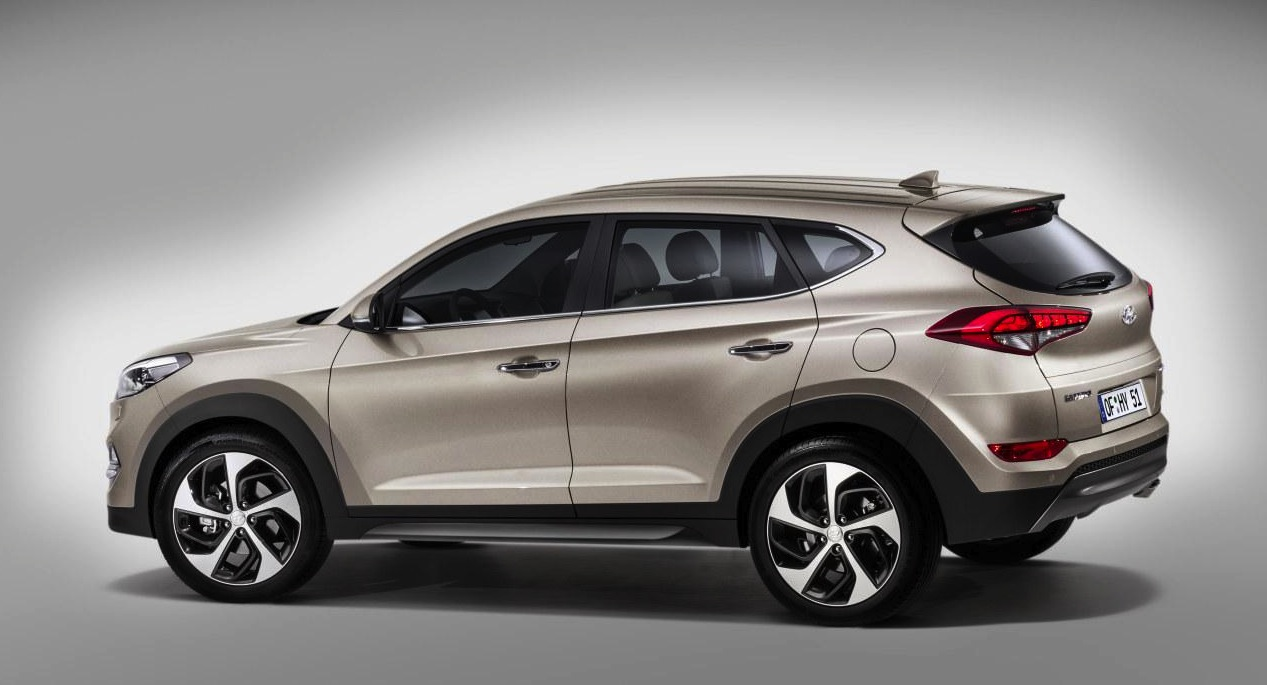 2016 Hyundai Santa Fe >> 2016 Hyundai Tuscon revealed, will become the new ix35 | PerformanceDrive