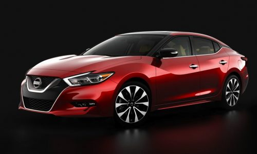 2016 Nissan Maxima revealed ahead of New York show debut