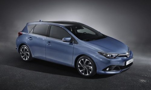 2016 Toyota Corolla hatch revealed with updated design