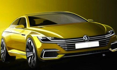 2017 Volkswagen CC concept confirmed for Geneva debut