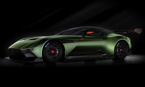 Aston Martin Vulcan revealed, most insane Aston ever