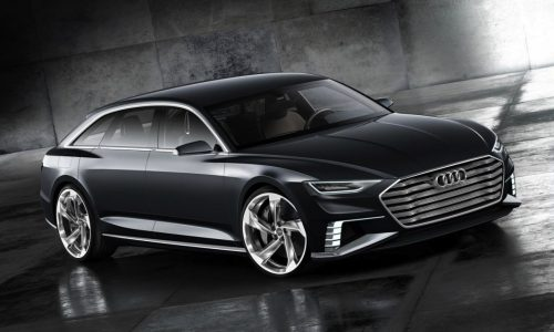 Audi Prologue Avant concept revealed in further detail