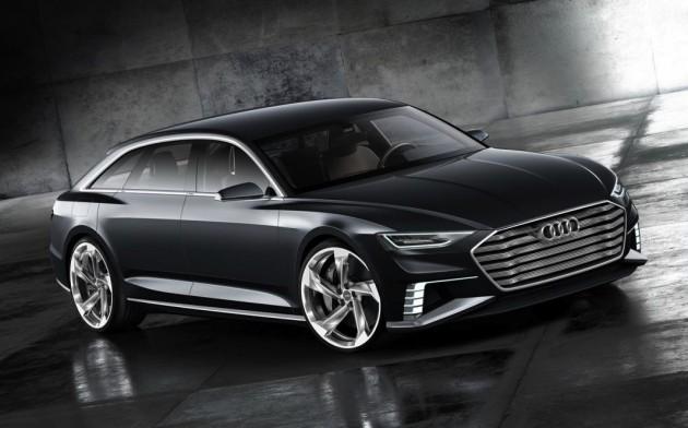 Audi Prologue Avant concept-front