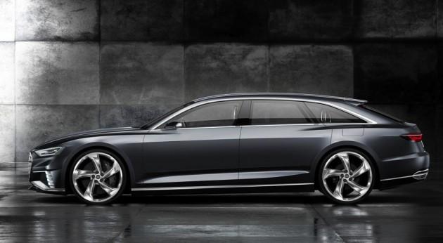Audi Prologue Avant concept-side