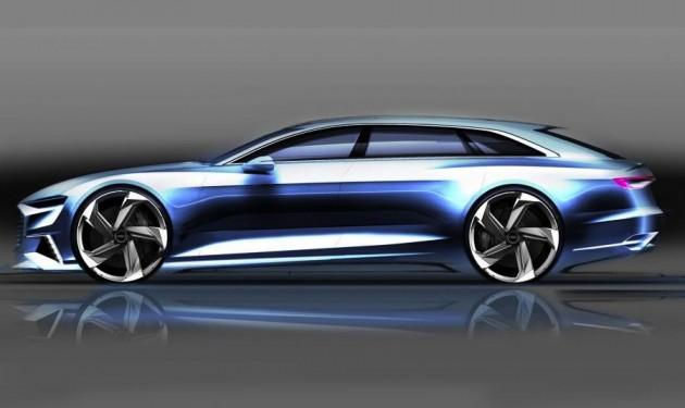 Audi Prologue Avant concept sketch