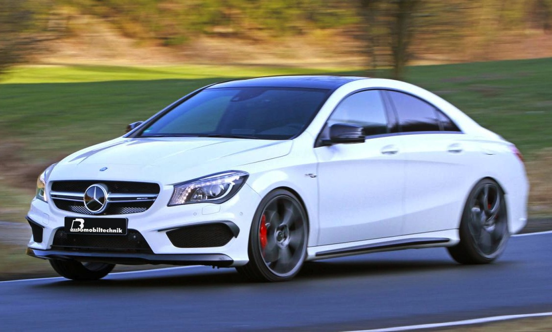 b b tunes the bejesus out of the mercedes cla 45 amg. Black Bedroom Furniture Sets. Home Design Ideas